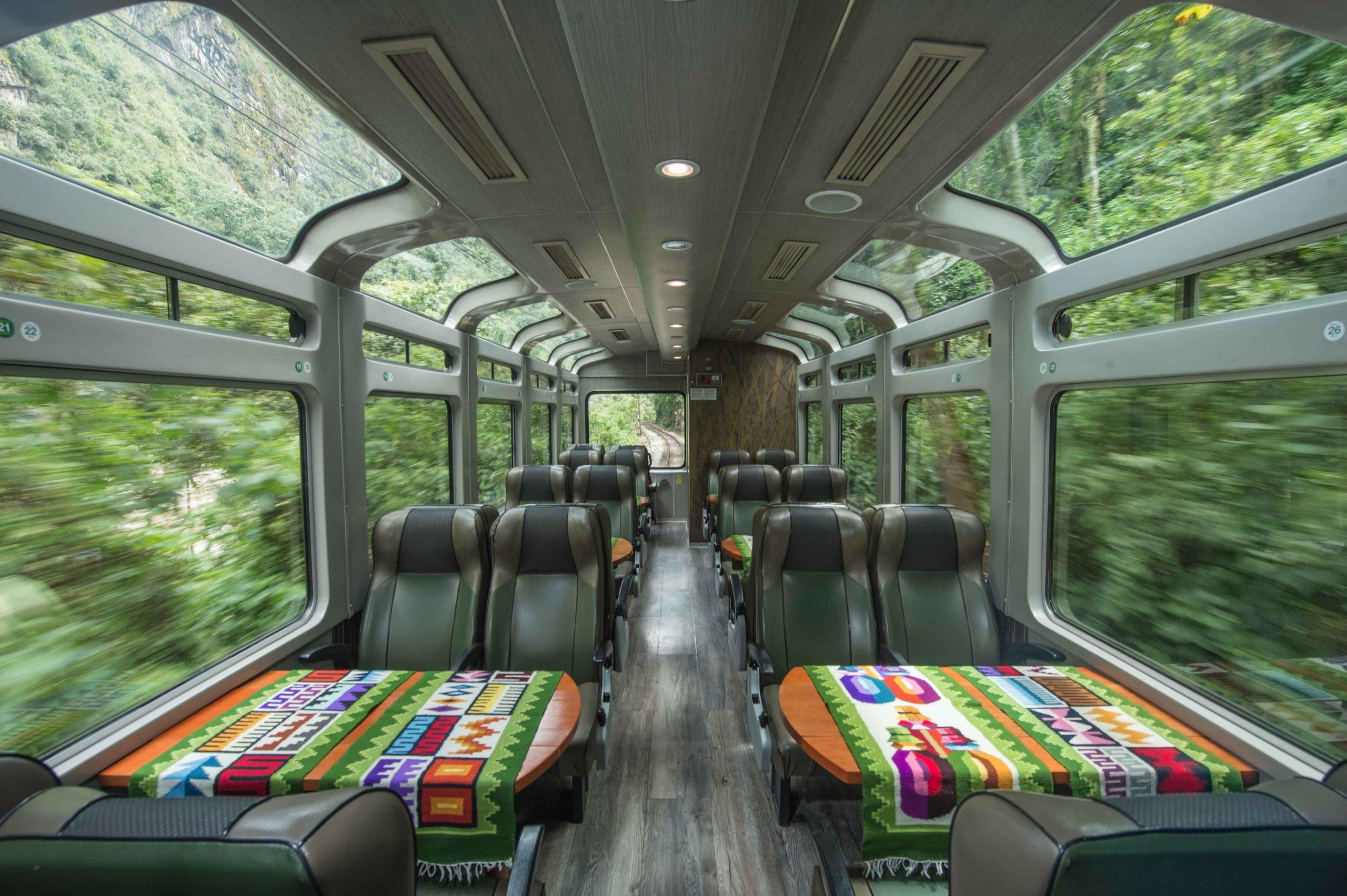 tren vistadome a machu picchu