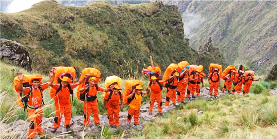 SAM Travel Peru Porters
